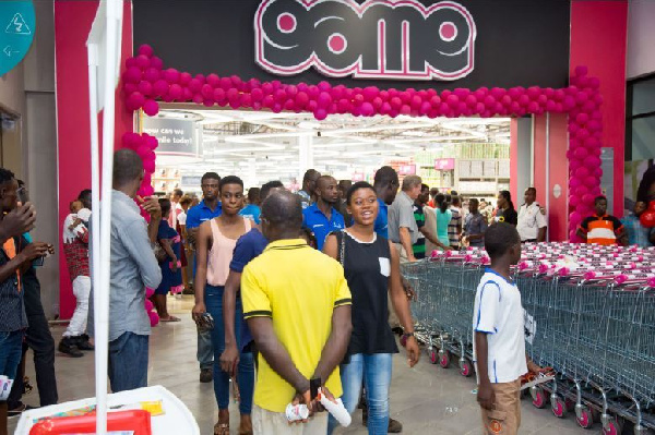 The Game has finally launched it's new outlet at the West Hills Mall