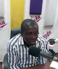 Mr. Patrick Acheampong, National Coordinator of the School Feeding Programme