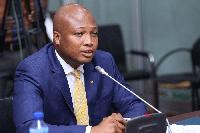 Member of Parliament for North Tongu, Samuel Okudzeto Ablakwa