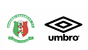 The deal will make Sekondi Hasaacas the second Club in Ghana to be sponsored by Umbro