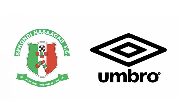 Sekondi Hasaacas wrap up kits manufacturing deal with Umbro