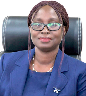 Ms Sandra Opoku is the new Director of the Tema Port