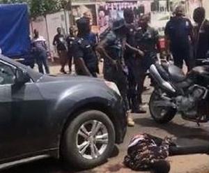 A robber shot dead at Tema Community 1