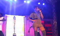 Ebony performing at People's Celebrity Awards