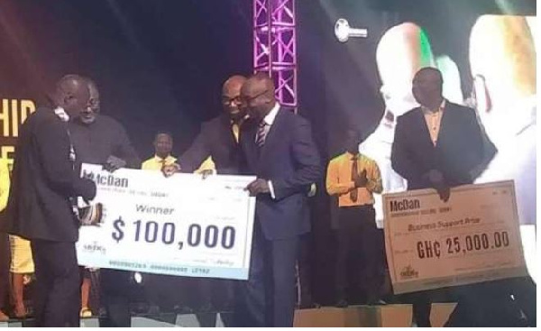 Hamza Akoligo adjudged winner of McDan Entrepreneurship Challenge