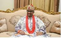 King of the Nigerian Igbo Community in Ghana,  Eze Dr Chukwudi Jude Ihenetu