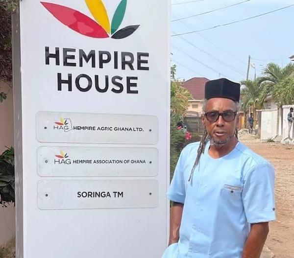 Nana Kwaku Agyeman, President of the Hemp Association of Ghana (HAG)