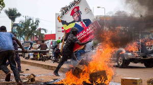 Protester Bobi Wine