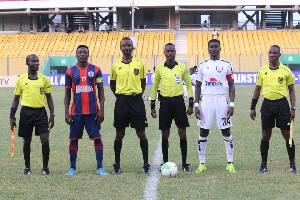 A photo of the Ghana Premier League game between Legon Cities and Inter Allies on matchay 28