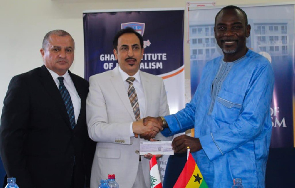 Lebanese embassy pledges support to education in Ghana