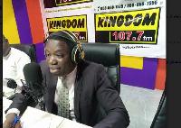 Daniel Kwesi Ashiamah, MP, Buem Constituency