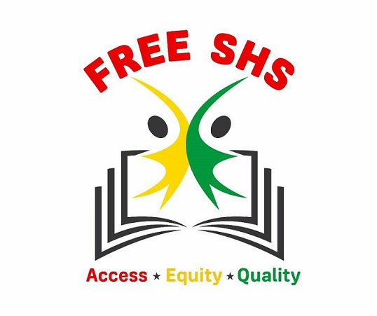 Free SHS logo was unveiled during a ceremony at the Flagstaff House on Thursday.