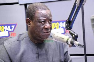 Kwasi Amoako-Atta, Minister of Roads and Highways