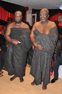 Enstoolment of Asante Chiefs, Queenmothers in the Netherlands