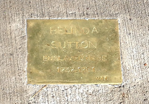A Stopping Stone Memorial, dedicated on November 19, 2017, honours the life of Belinda Sutton
