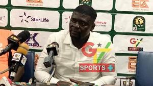Accra Hearts of Oak coach, Samuel Boadu