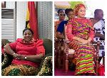 First Lady Rebecca Akufo-Addo and  Second Lady Samira Bawumia