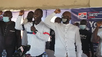 NPP Regional executives at the party's forum in the Atiwa West District