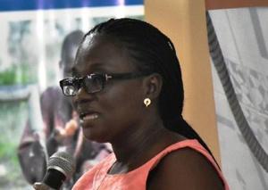 Vice President of Ghana Journalists Association, Linda Asante Agyei