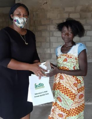 Crime Check Foundation has donated GHC 21,000 to a widow
