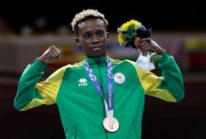 Ghanaian Olympic medalist, Samuel Takyi