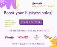 Plendify B2B marketplace - Created to boost  businesses