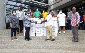 Nungua Warehouse Ghana Limited supports GPHA coronavirus fight