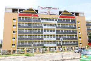 Headquaters of the Trade Unions Congress in Accra