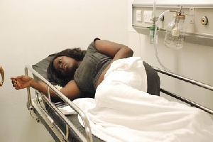 Raissa at the Greater Accra Regional Hospital