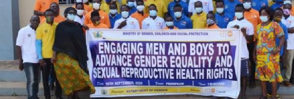 Men urged to be active in bridging gender equality gap