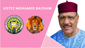 Niger's ruling party candidate Mohamed Bazoum