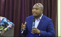 MP for North Tongu, Samuel Okudzeto Ablakwa