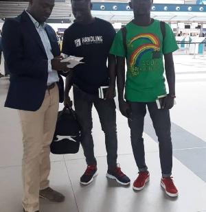 Ghanaian duo Samuel Asiedu and Abraham Owusu