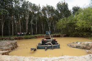 Some galamsey operators are now in the GREL concession