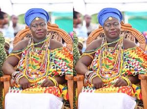 Nana Aplam II, the destooled queen mother