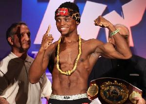 Dogboe is the new World Boxing Organisation (WBO) super bantamweight champion