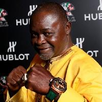 Ghana boxing legend Azumah Nelson
