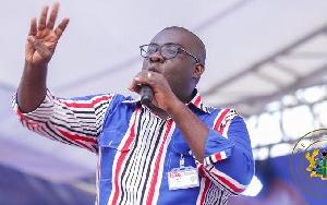 NPP National Organizer, Sammi Awuku