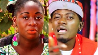 Patrici Afriyie has alleged that her husband, Lil Win, is a good pretender