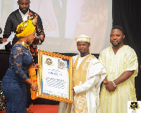 The citation was received on behalf of the Nation Chief Imam