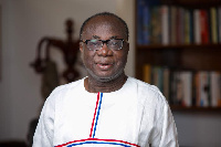 Freddie Blay, newly elected Chairman of the NPP