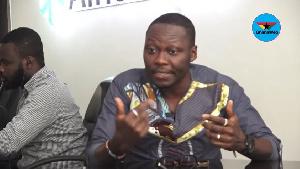 Ghanaian writer and entertainment critic, Arnold Asamoah-Baidoo