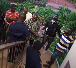 DCOP Opare Addo in the grips of alleged members of Delta Force