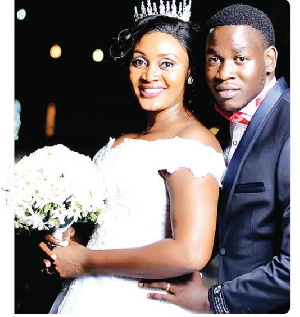 Former Miss Tanzania and her husband