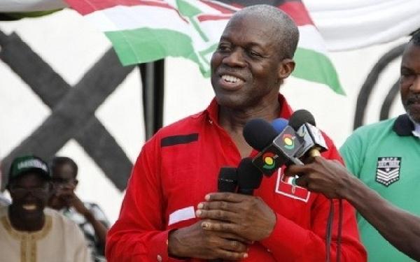 Vice President Kwesi Bekoe Amissah-Arthur