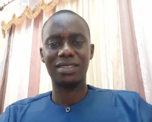 Christian Baah, DCE, Suaman District