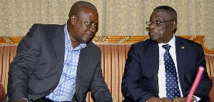 Former president Mahama has described the late professor has his mentor and friend