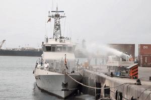 File photo of the Sekondi Naval Base