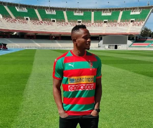 Algerian giants MC Algers unveils Joseph Esso