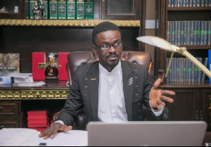 Nana Appiah Mensah, Chief Executive Officer (CEO) of the embattled gold collectibles firm